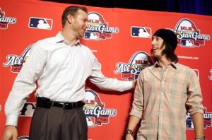 Roy Halladay, Tim Lincecum